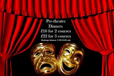 Pre-Theatre Dining offer